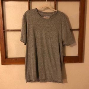 Zara • Basic gray tee